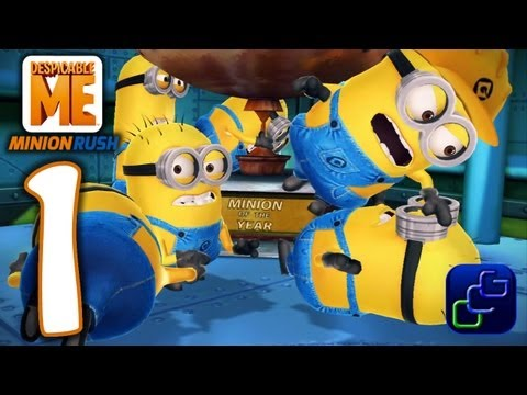 Despicable Me: Minion Rush Android Walkthrough - Gameplay Part 1 - Gru's Lab video