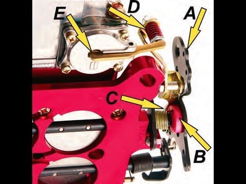 Holley Carb: Accelerator Pump Set-Up & Tune (CARB BASICS PART: 2)