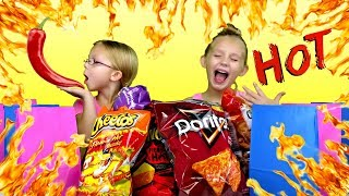 SIS vs SIS - Spicy Chips Challenge!!!