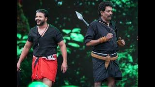 Amma Mazhavillu I Shajipappan and Pulimurugan shares the stage I Mazhavil Manorama