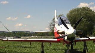 AMAZING SOUNDING PILATUS PC-21 TURBOPROP RC AIRPLANE