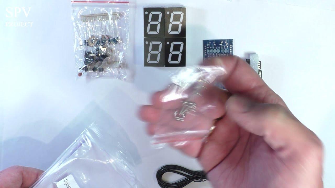 Как своими руками сделать электронные часы 7