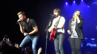 Lady Antebellum Video - Lady Antebellum - Medley of hits live Sydney Qantas Credit Union Arena 15/03/15
