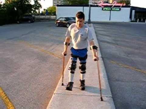 Walking with Leg Braces II Video