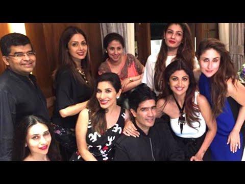 Kareena Kapoor, Shilpa Shetty, Alia Bhatt  Have Fun At Manish Malhotra Birthday Party