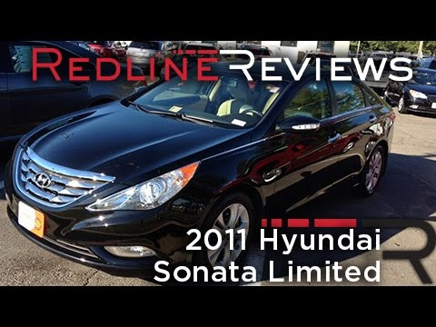 2011 Hyundai Sonata Limited Review, Walkaround, Exhaust, Test Drive