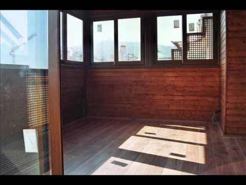Cerramientos de terrazas en madera 2 youtube - Cerramiento de madera ...