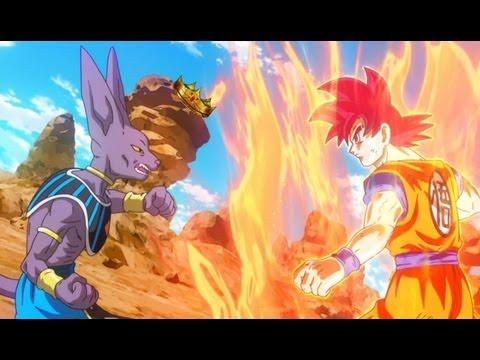 God vs God Dragon Ball Dragon Ball z Battle of Gods