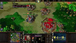 120(UD) vs Infi(ORC) - WarCraft 3 Frozen Throne - RN3677