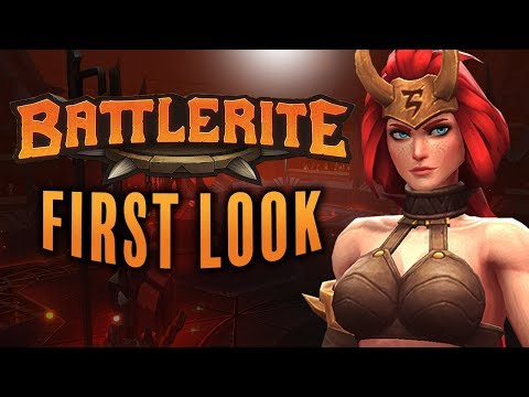 FREYA WITH 2 BIG... HAMMERS! Battlerite Free to Play Release Review