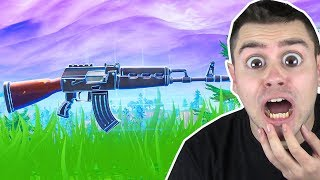Nur AK CHALLENGE in Fortnite ..