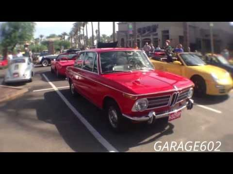 BMW 2002 Roundie Classic Coupé at Cars and Coffee Scottsdale