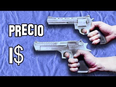Réplica Magnum 44 y Desert Eagle | Armas Caseras Fáciles