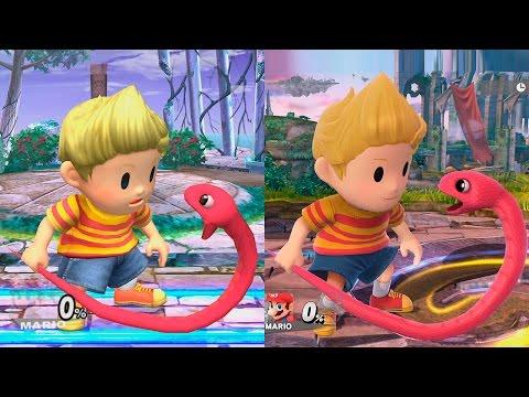 Super Smash Bros Wii U | Lucas Evolution