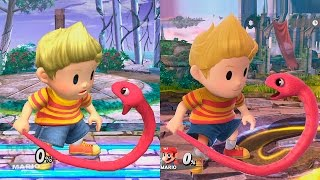 Super Smash Bros Wii U | Lucas Evolution