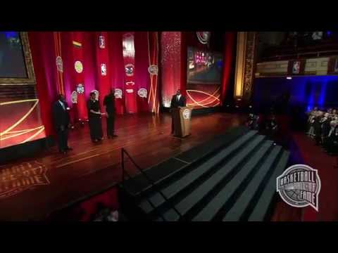 """Clifton Nathaniel delivers his speech on behalf of Nat """"Sweetwater"""" Clifton upon his being enshrined to the Naismith Memorial Basketball Hall of Fame as part of the class of 2014. To learn..."""