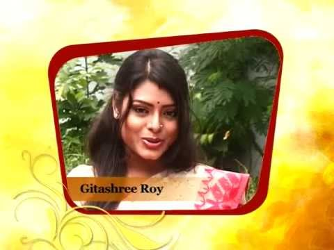 Popular Actress Gitashree Roy Expresses Her Excitement About Large Durga Puja, 2013 video