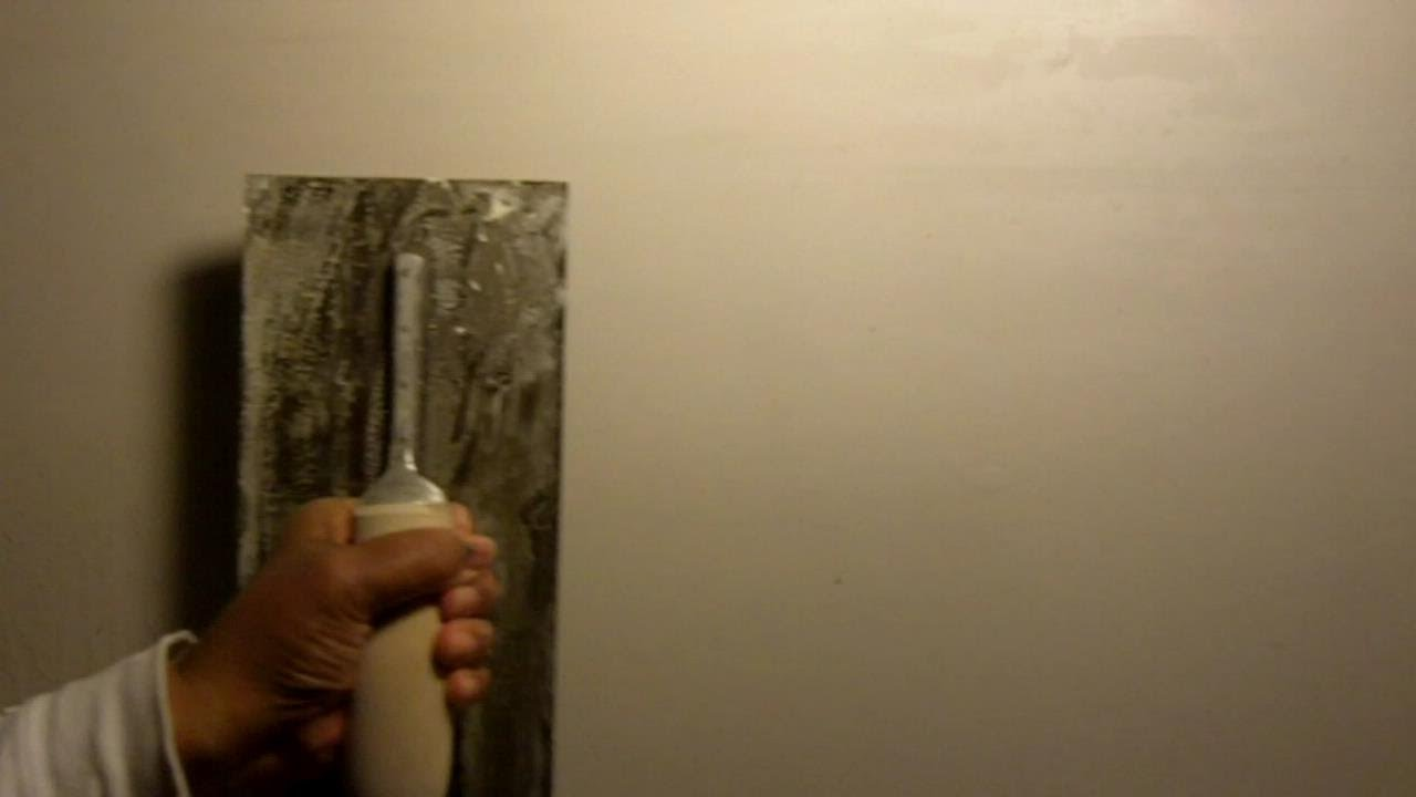 How To Make Smooth Out The Paint On Walls
