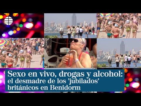 Sexo en vivo, drogas y alcohol: el desmadre de los 'jubilados' británicos en Benidorm