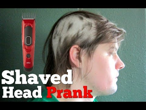 Shaved Head Prank