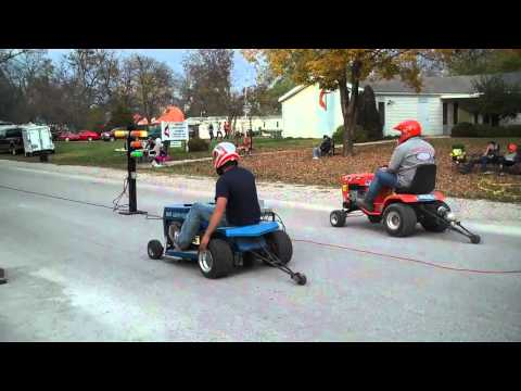 Lawnmower  Drag Racing Sumner, Mo Last Race