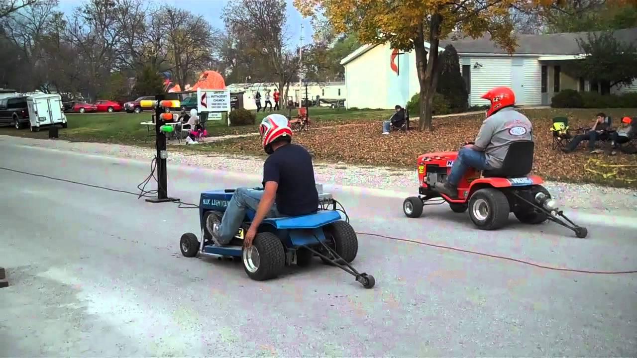 Lawnmower Drag Racing Sumner Mo Last Race Youtube