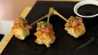 Crispy Rice Tuna Tartare Poppers Recipe