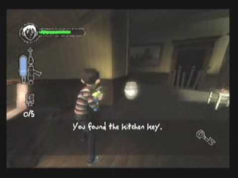 Monster House Playstation 2 Gameplay 1st Chapter