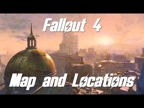 FALLOUT 4: MAP AND LOCATION ANALYSIS! (ft. MrMattyPlays)