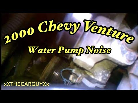 Chevy 3400 Motor Making Weird Noises/Bad Water Pump