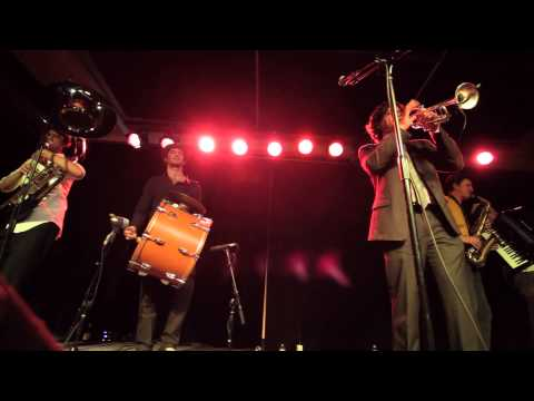 Raya Brass Band - Ivan's Tune - Littlefield, Brooklyn 11/30/13