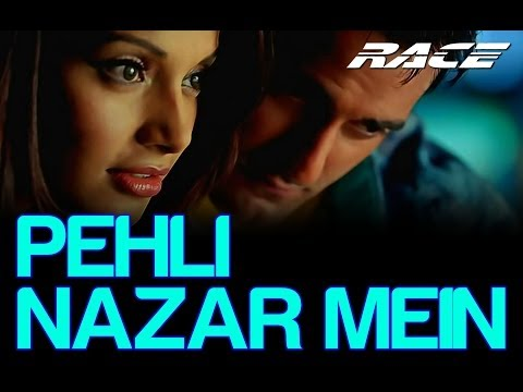 Pehli Nazar Mein by Atif Aslam - Race (Bipasha Basu & Akshay Khanna)