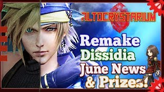 Final Fantasy Altocrystarium:  FF7 Remake, Dissidia games & some Ivalice hype!