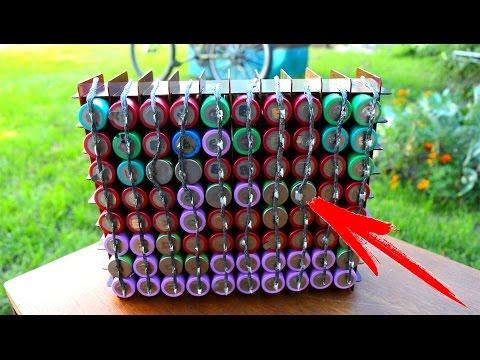 Li Ion БАТАРЕЯ КОТОРУЮ МОЖЕТ СДЕЛАТЬ КАЖДЫЙ ! \ DIY: 36v 20ah lithium ion 18650 e-bike battery pack