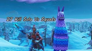 33 Kill Solo Vs Squads Fortnite Season 7