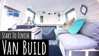 DIY Mercedes Vito Van Conversion (HOW TO) // START TO FINISH