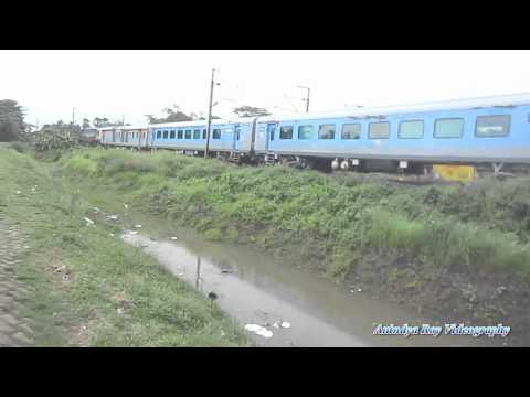 First HD Video in youtube : Howrah New Jalpaiguri LHB Shatabdi on its inaugral run