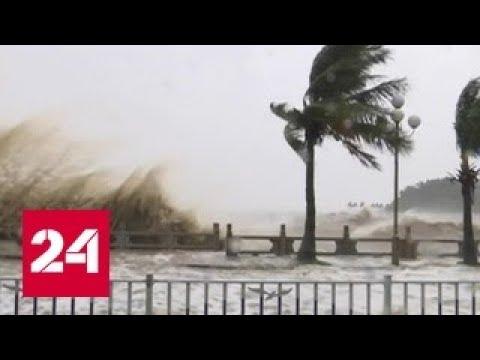 Число жертв тайфуна Хато достигло 12 человек