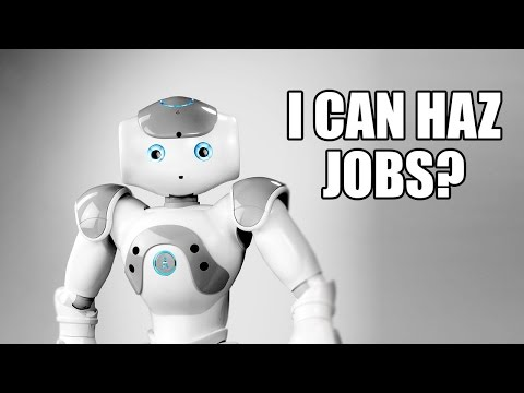 The Robots Are All About That Job