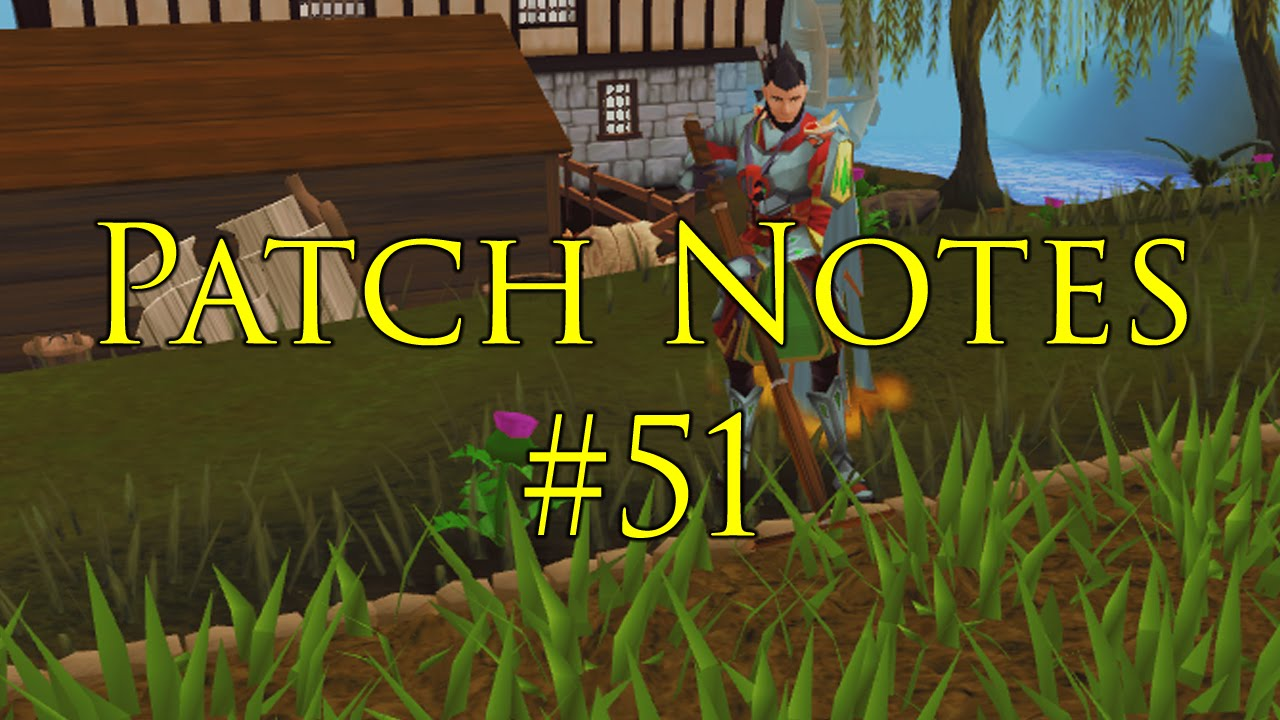Play RuneScape Free: http://www.RuneScape.com Patch Notes thread: http