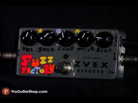 ZVex Vexter Series Fuzz Factory