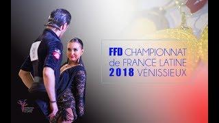 2018 FFD French DanceSport Championship Latin - Finals
