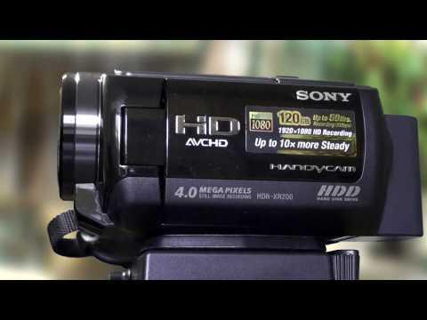 VIDEO CAMARA SONY HDR-XR200V + CURSO DE EDICIÓN DE TV