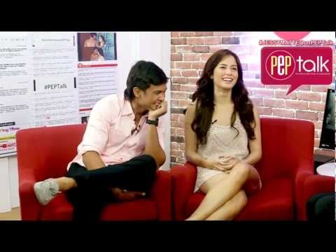 PEP TALK: Matteo Guidicelli and Jessy Mendiola talk about how their showbiz careers began