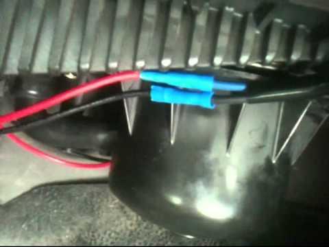 Dodge Blower Motor Repair Mp4 Youtube