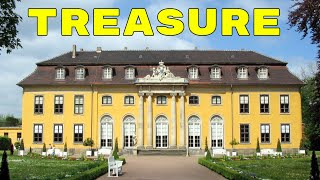 BURIED TREASURE FOUND @ HUGE YELLOW MANSION! Metal Detecting Antique Ring, Old Coins, Silver & More