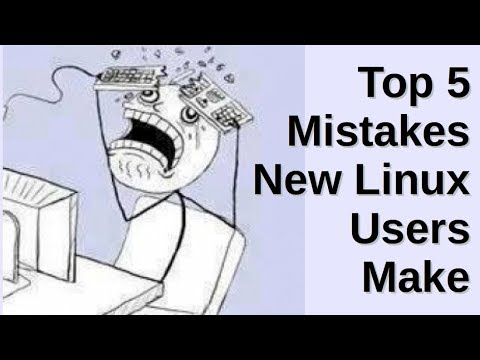 Top 5 Mistakes New Linux Users Make