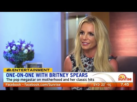 Britney Spears - 2016 Australia's 'Sunrise' Interview