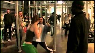 Jessica Biel and Ryan Reynolds - Blade: Trinity Training