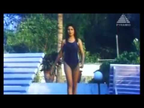 Malavika Hot Swimsuit video